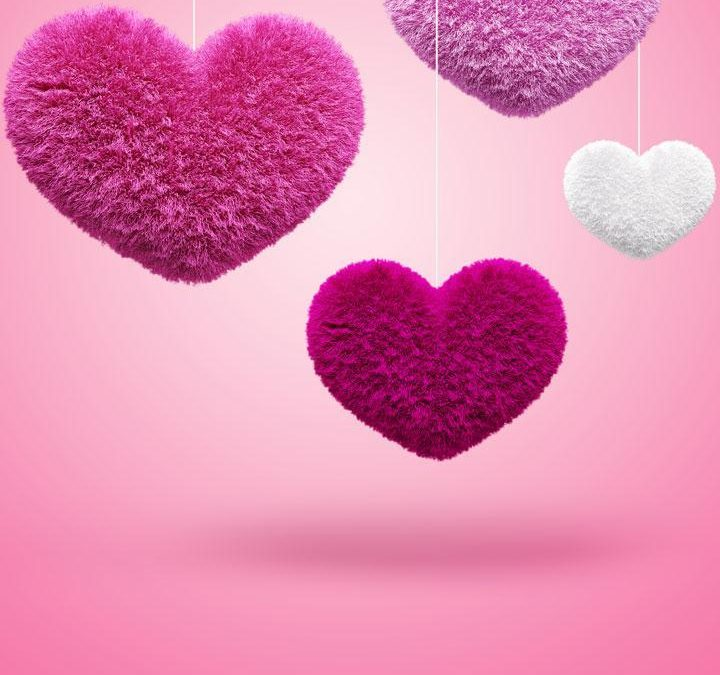 خلفيات صور قلوب جميلة وقلوب بألوان رائعة